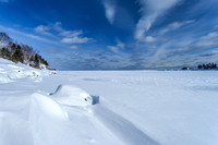 Ice - Lake Superior in February -  IMG101_8622
