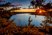 BWCA - Clearwater Lake Sunset from Palisade - 101_7970